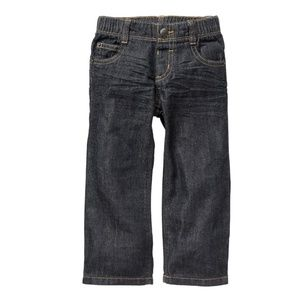 Toddler Pull-On Straight Jeans